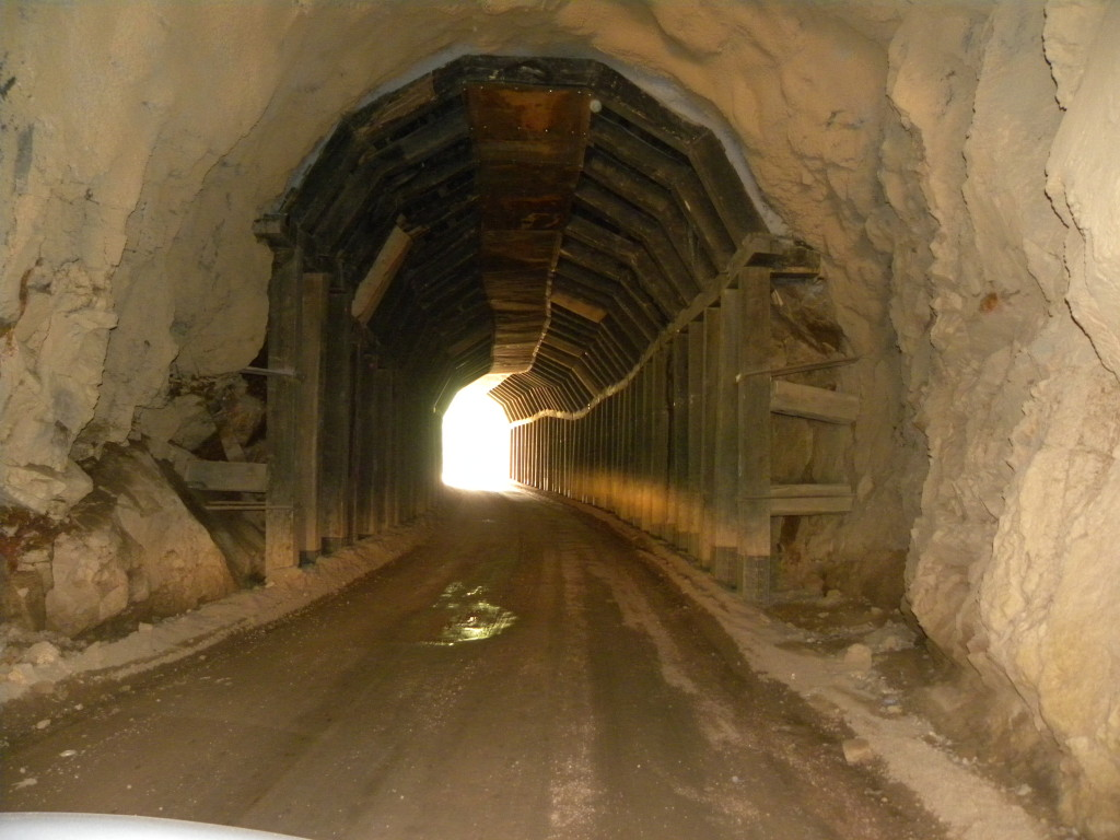 Gold Camp Road Tunnel