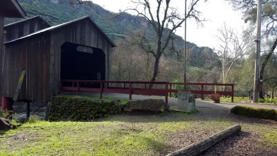 Honey Run Covered Bridge Chico, California