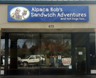 Alpaca Bob's Sandwich Adventures Chico California