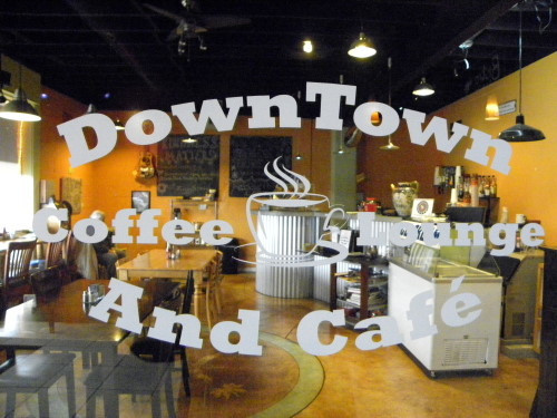 Downtown Coffee Lounge - RV Questions
