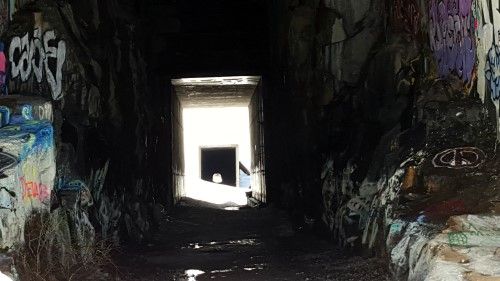 Summit Tunnels at the Donner Pass Summit Trail Hike