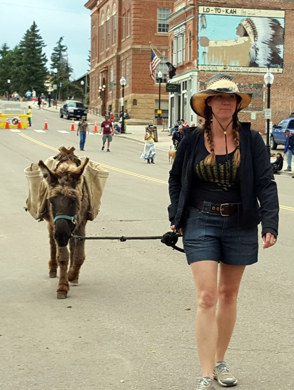 Donkey Derby Days Cripple Creek Colorado
